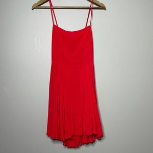Urban Outfitters Silence + Noise Red Mini Dress